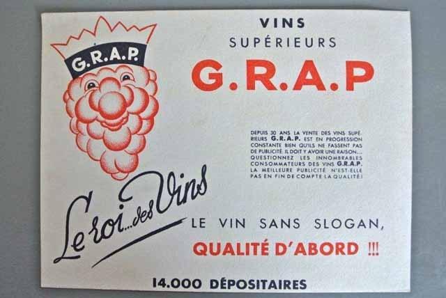 フランス ブロカント ビュバー(ワインG.R.A.P.)