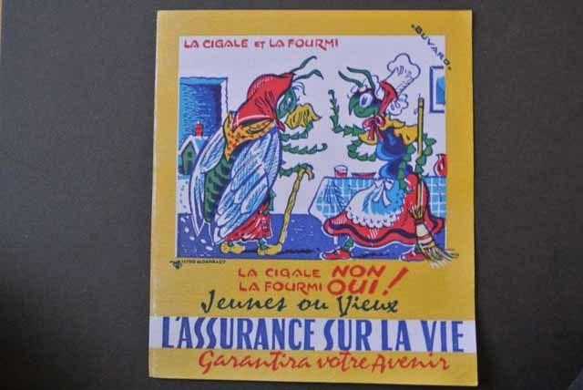 フランス ブロカント ビュバー(生命保険)