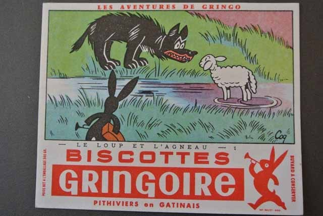フランス ビュバー グリンゴの冒険( オオカミと羊)3枚セット
