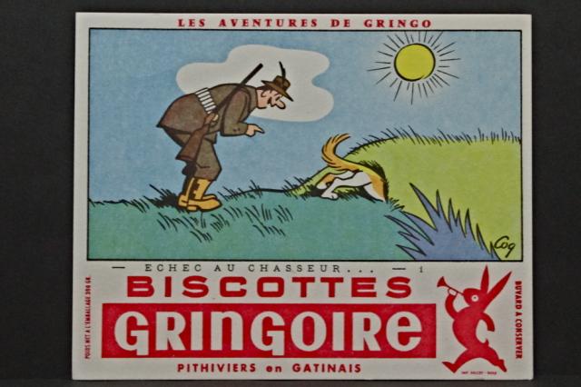 フランス ビュバー グリンゴの冒険( ハンターの失敗)3枚セット