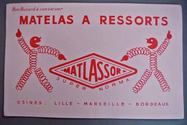 フランス ブロカント ビュバー(マットレスメーカー)