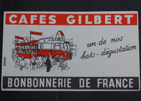 フランス ブロカント ビュバー(CAFES GILBERT)