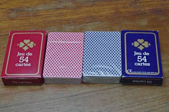 """トランプ """"Jeu de 54 cartes"""" (2色)"""