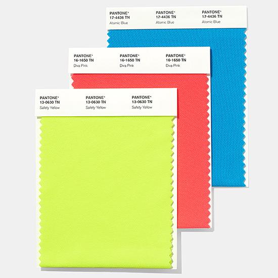 ファッション、ホーム + インテリア・ナイロン・ブライト・スワッチカード