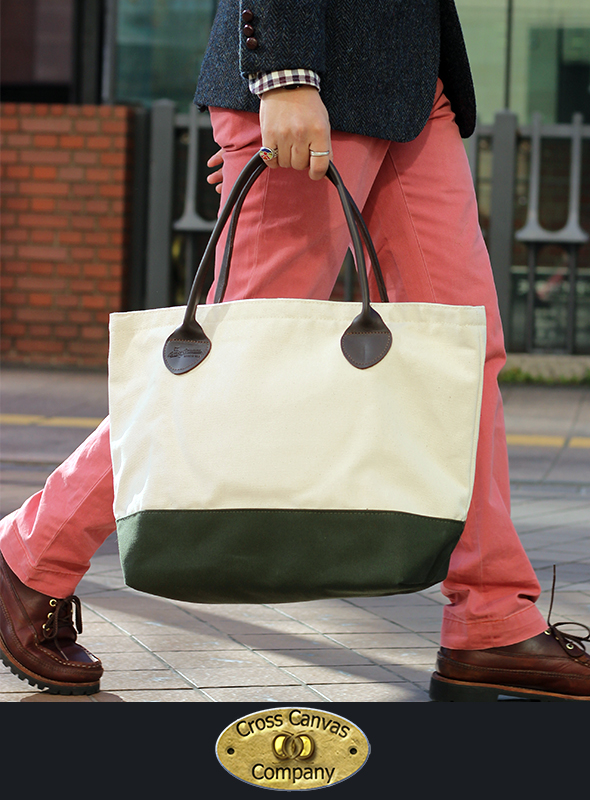 Cross Canvas Company クロスキャンバスカンパニー Canvas Tote Bag 【50% OFF】