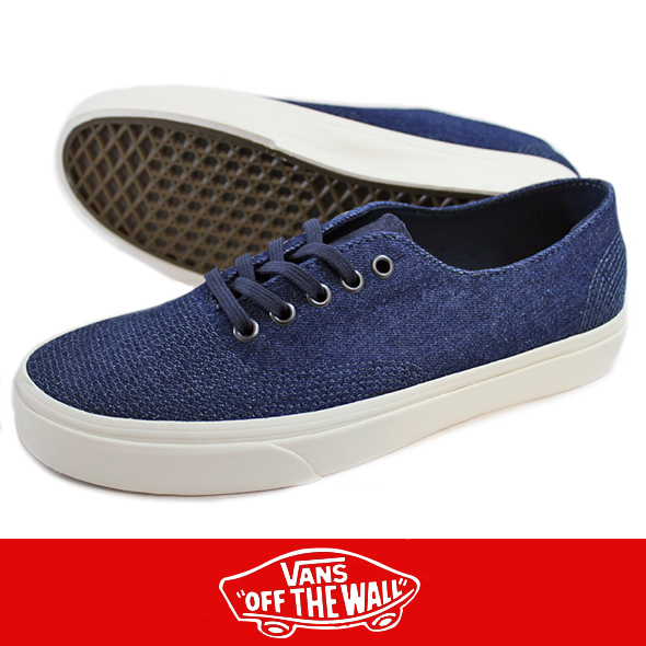VANS バンズAUTHENTIC ONE PIECE DX  オーセンティック NAVY