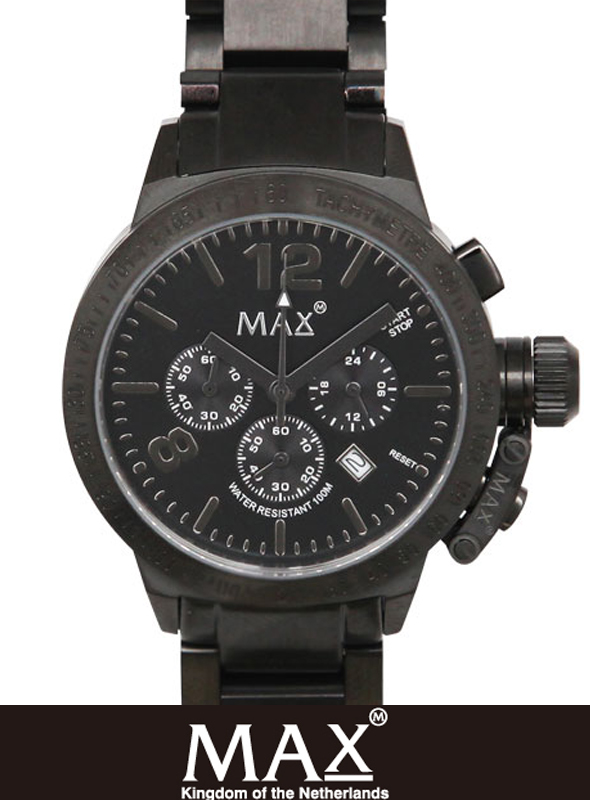 MAX XL WATCH  5-MAX 596 Black/Black