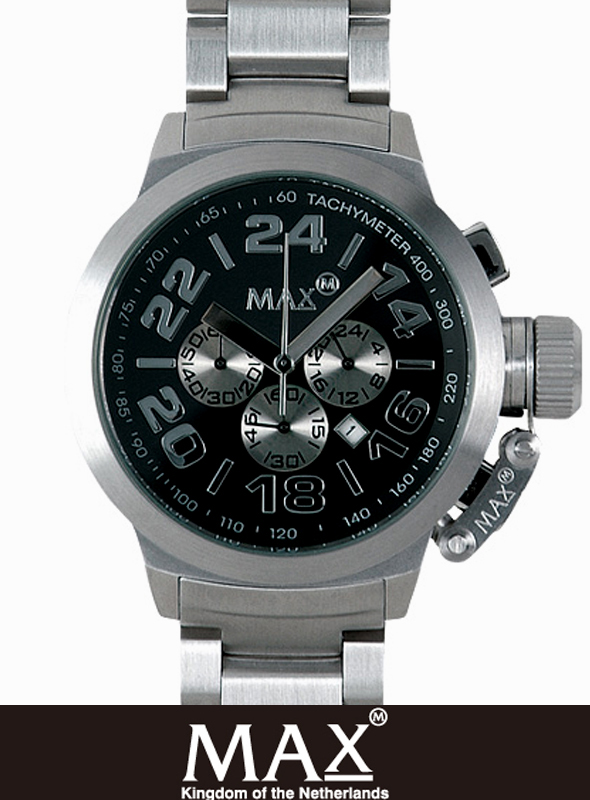 MAX XL WATCH  5-MAX 454 Black/Silver