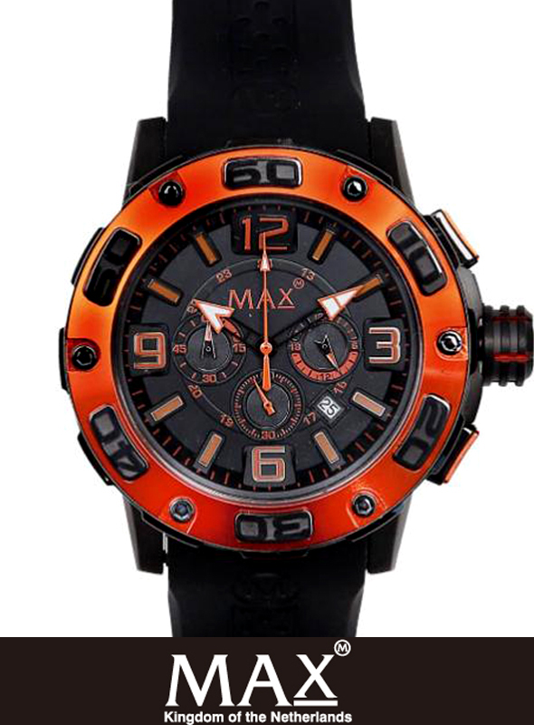 MAX XL WATCH 5-MAX 692 Black/Orange