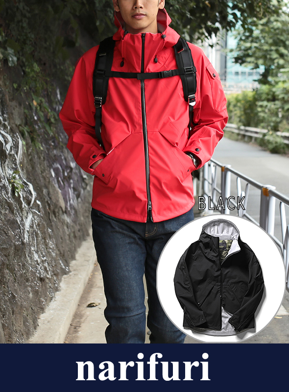 narifuri ナリフリ ECWCS stretch 3layer parka(NF969)