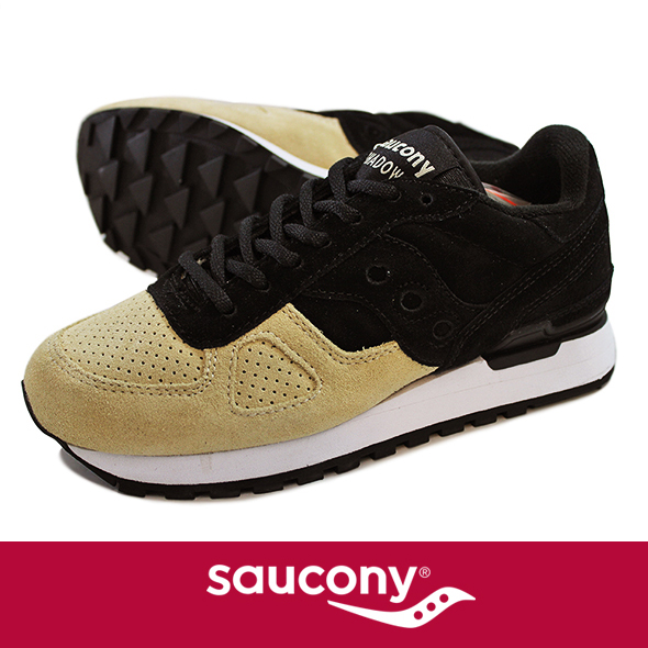 Saucony サッカニー Shadow Original  SUEDE BLK/BEIGE S70257-5