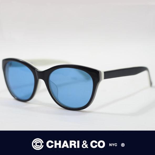 CHARI&CO チャリアンドコー EYEWEAR DOVE BLACK/BLUE