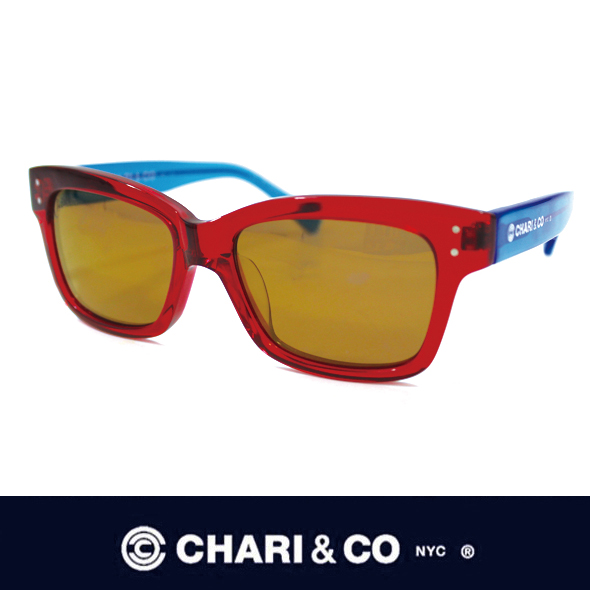 CHARI&CO チャリアンドコー EYEWEAR THE MECHANIC RED/BLUE