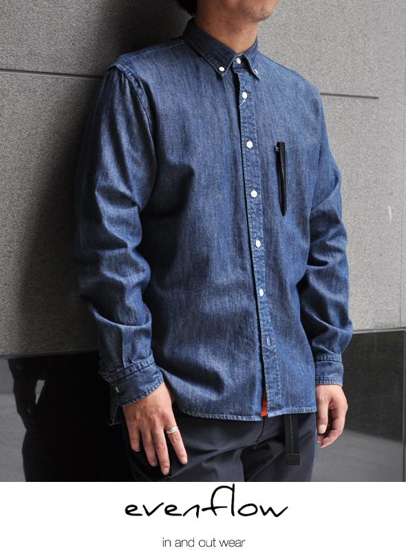 evenflow イーブンフロウ BD Chambray shirts