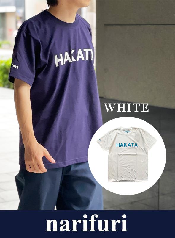 【narifuri】ナリフリ narifuri×paper HAKATA Tシャツ