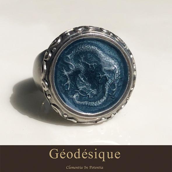 Geodesique ジィオデシック 円龍こいすみ リング