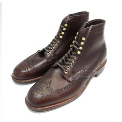 Alden オールデン D4809H 5EYELET WING TIP BOOTS ウィングチップブーツ BRW CHROMEXEL