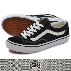 VANS バンズ 50th OLD SKOOL OG BLK/WHT
