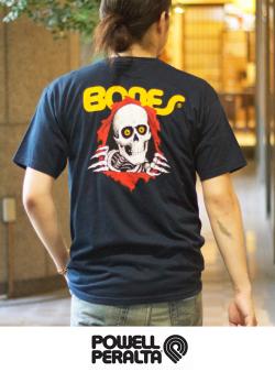 POWELL PERALTA パウエル CLASSIC RIPPER リッパー ボーンズ Tシャツ