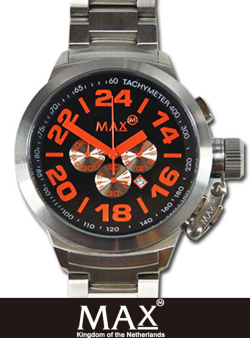 MAX XL WATCH  5-MAX 460 BLK/ORG/SLV