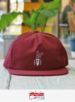 Good Worth  グッドワース MR. PLAYBOY NYLON SNAPBACK BURGUNDY