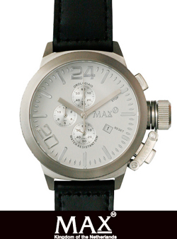 MAX XL WATCH 5-MAX 521 WHT/SLV/BLK