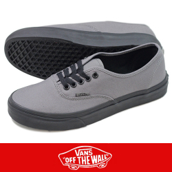 VANS バンズ AUTHENTIC (POP OUTSOLE) GRAY/BLACK