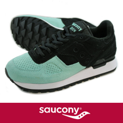 Saucony サッカニー Shadow Original  SUEDE BLK/MINT S70257-6