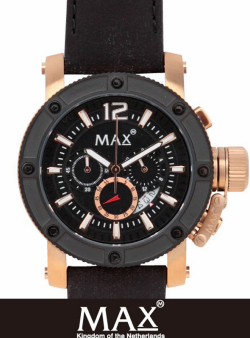 MAX XL WATCH 5-MAX 674 GOLD/BLACK