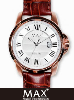 MAX XL WATCH 5-MAX 752 Silver/RoseGold