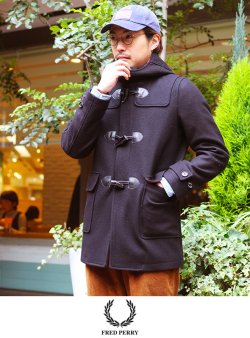 FRED PERRY ダッフルコート(F2446)
