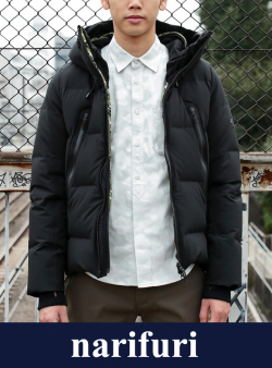 narifuri ナリフリ  narifuri×DESCENTE Mizusawa down jacket(NFDC-01)