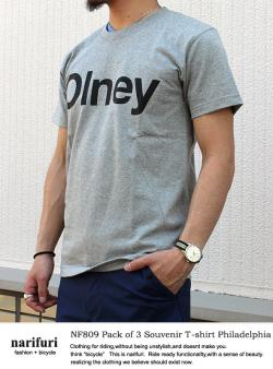 Souvenir T-shirt Philadelphia GRY (NF809)