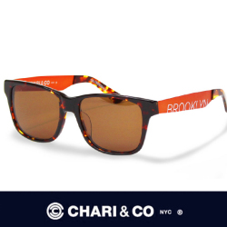 CHARI&CO チャリアンドコー EYEWEAR CROSSOVER BROWN/ORANGE