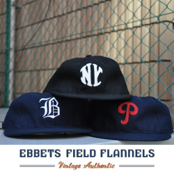 EBBETS FIELD FLANNELS エベッツフィールドフランネルズ 6パネル BB CAP
