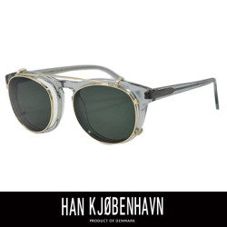 HAN KJOBENHAVN ハン コペンハーゲン TIMELESS CLIPON GREY (SUN GREEN)