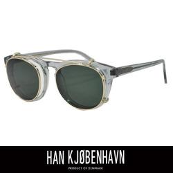 HAN KJOBENHAVN ハン コペンハーゲン TIMELESS CLIPON GREY (SUN GREEN)