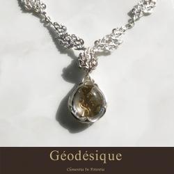 Geodesique ジィオデシック 宝珠ネックレス