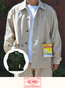 BIG MIKE  ビッグマイク CORDUROY COVERALL JACKET