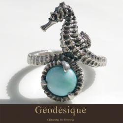 Geodesique ジィオデシック オトシゴ リング