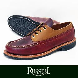 RUSSELL MOCCASIN ラッセルモカシン FISHING OXFORD DARK BROWN(paper別注)