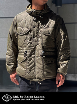 RRL ダブルアールエル PACKABLE POPOVER JACKET