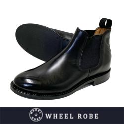 WHEEL ROBE ウィールローブ ELASTIC SIDE BOOTS WEINHEIMER BLACK