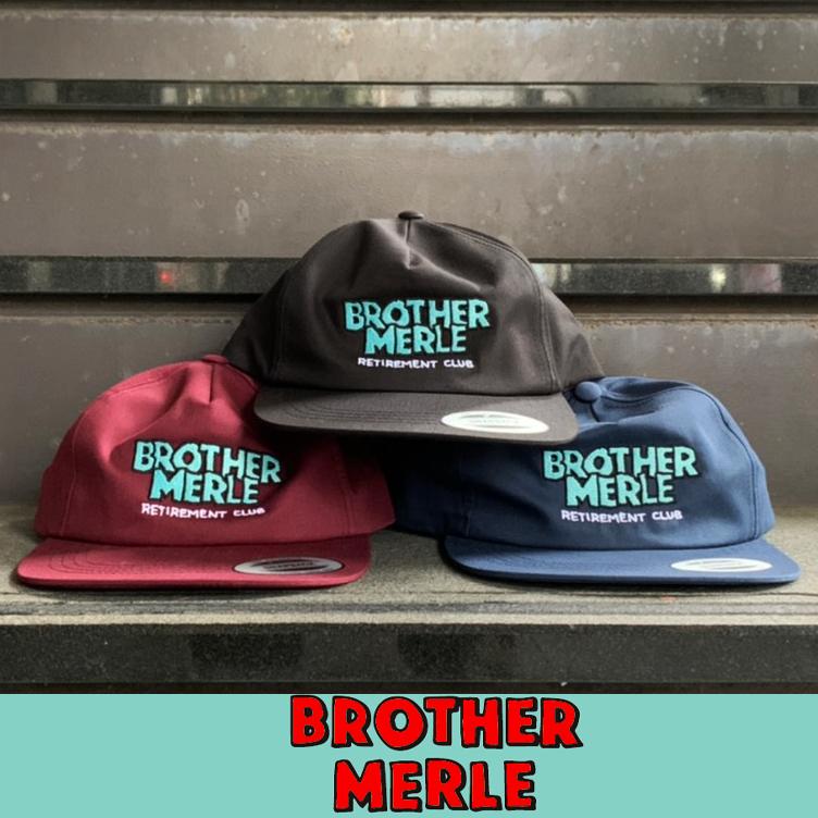 【BROTHER MERLE】 ブラザーマール 5PANEL CAP