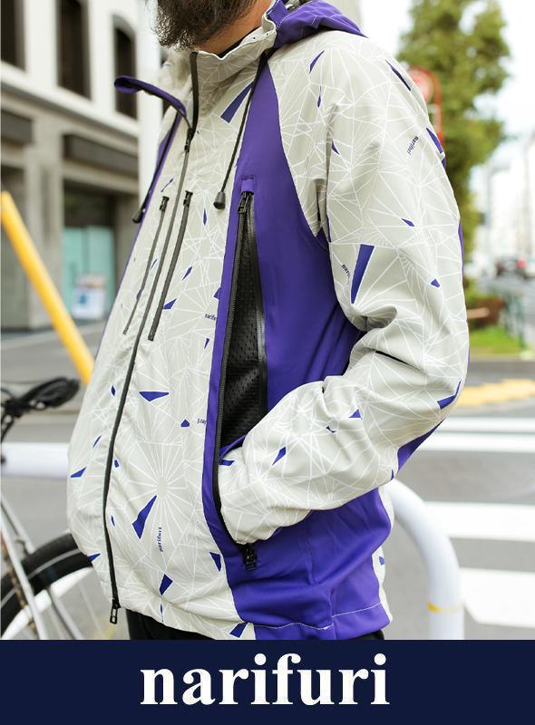 narifuri ナリフリ ダズル迷彩マウンテンパーカー (NF2055)
