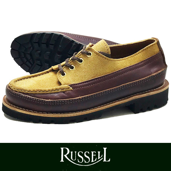 RUSSELL MOCCASIN ラッセルモカシン ONEIDA BROWN/SUNFLOWER (paper別注)