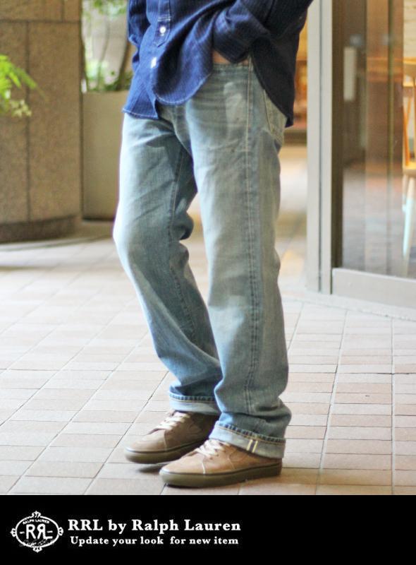RRL ダブルアールエル VINTAGE WASHED STRAIGHT LEG