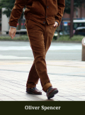 Oliver Spencer オリバースペンサー FISHTAIL TROUSER C0RD GINGER