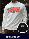 CHARI&CO チャリアンドコー LENNON CREW SWEAT SHIRT