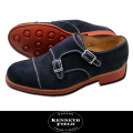 KENNETH FIELD ケネスフィールド Double monk strap shoes ダブルモンクストラップシューズ